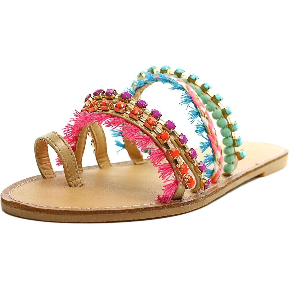 Madden Girl Krreed Women US 9.5 Multi Color Slides Sandal