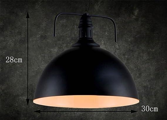 Plafoniere Industriali Diametro 30 : Mnii retro venti industriali lampadario bar coperchio paralume