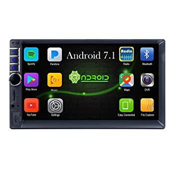 "Mengonee Car Stereo Radio 2 DIN 7"" MP5 Player GPS WiFi con cámara Trasera de"