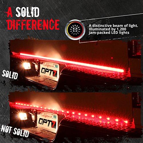 Opt7 60 Quot Redline Triple Led Tailgate Light Bar W