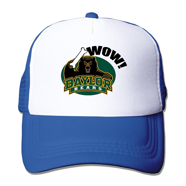 Hotgirl4 Wow Baylor University Cap Hats Meshback Adjustable Cap 1 Size Black