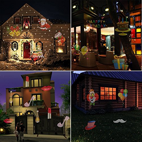 Secret Cherish Christmas Projector Lamp With 12
