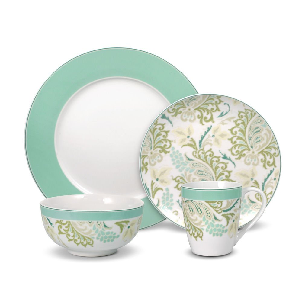 Pfaltzgraff Sketch Paisley Dinnerware Set (16 Piece)