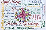 Christmas Cards - 24 Pack of International Multi-Lingual Holiday Cards - Unity - 24 Cards and Envelopes