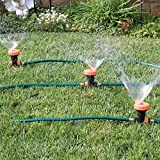 3 in 1 Portable Sprinkler System with 5 Spray Settings