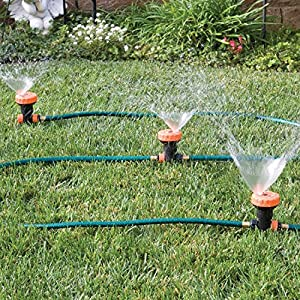 Amazon Com 3 In 1 Portable Sprinkler System With 5 Spray