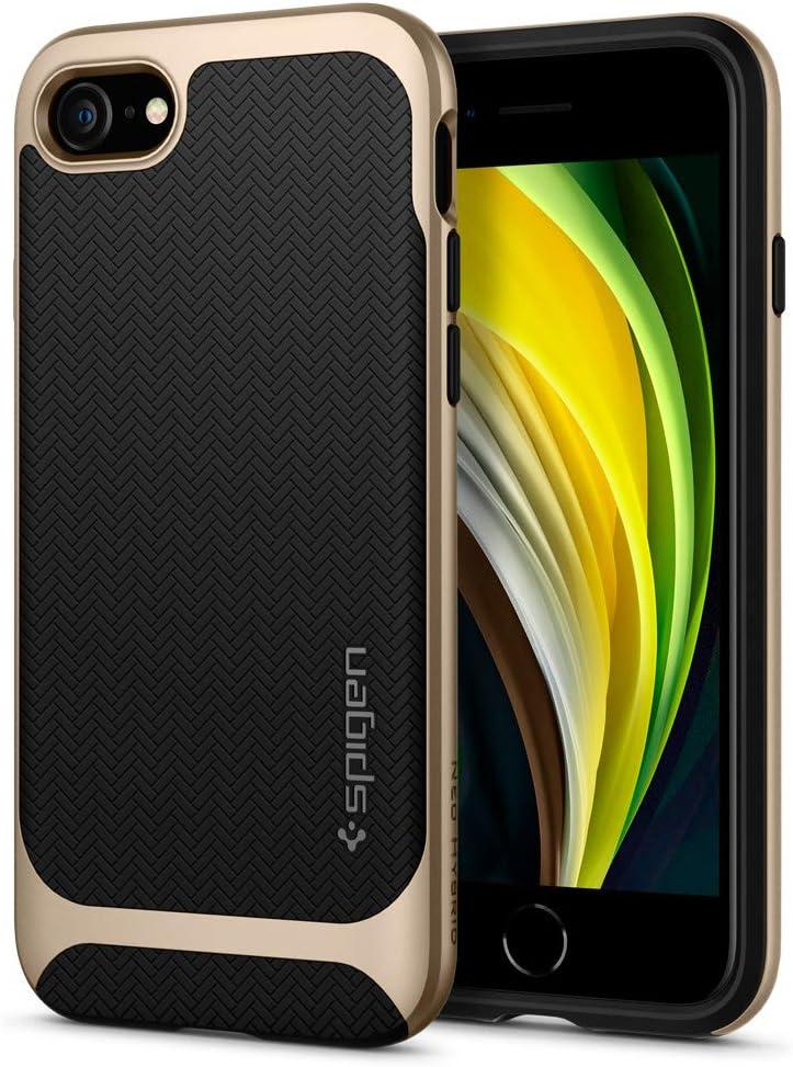 Spigen Neo Hybrid Designed for iPhone SE Case (2020) / Designed for iPhone 8 Case (2017) / Designed for iPhone 7 Case (2016) - Champagne Gold