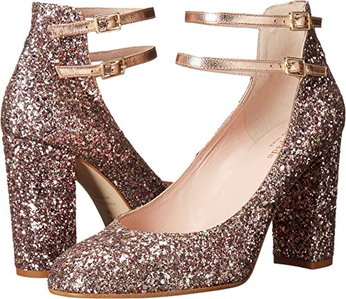 Gold Nappa Footwear - Kate Spade New York Women's Baneera Rose Gold Multi Glitter/Metallic Nappa 5 M US