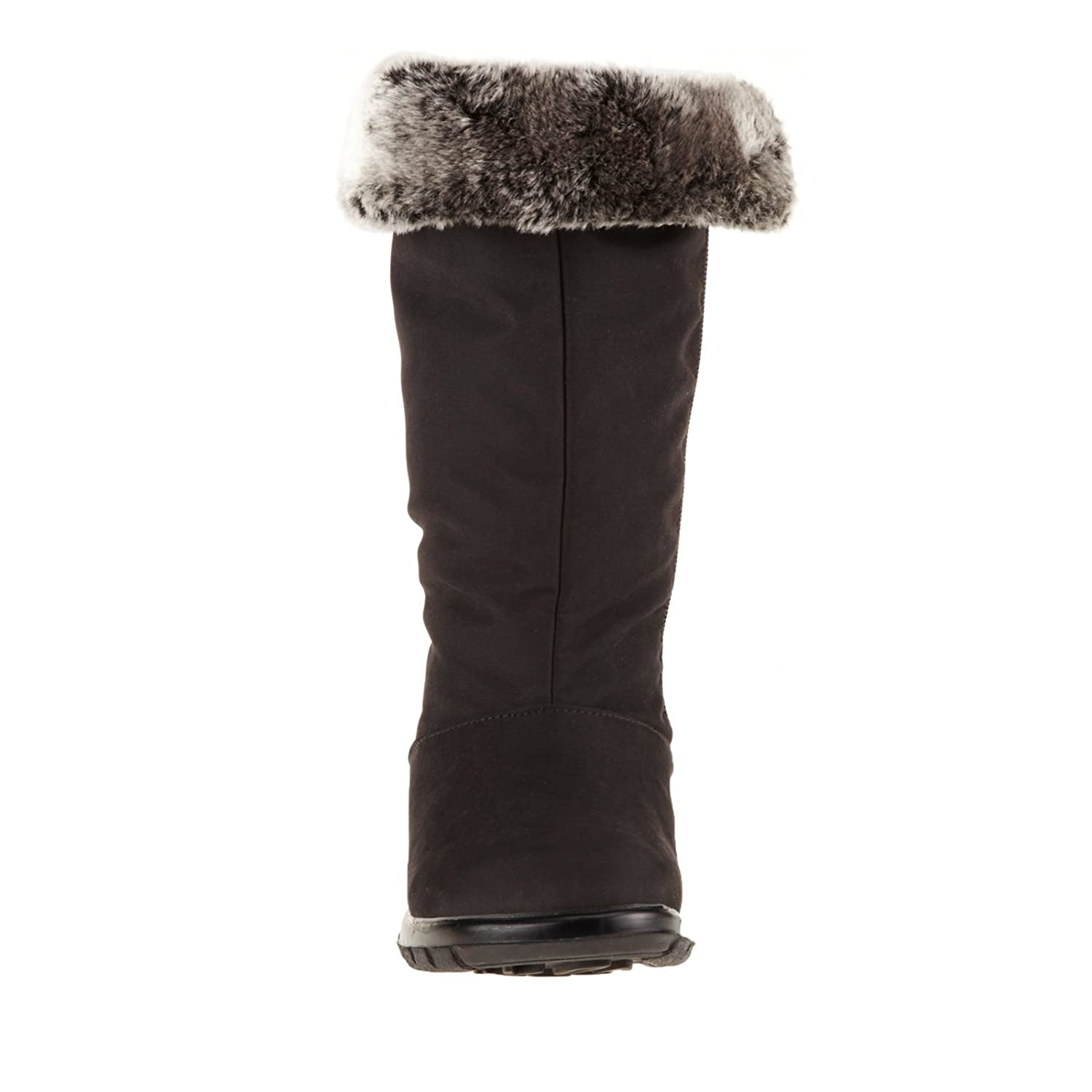 Toe Warmers B00476SW6C Women Boots Janet B00476SW6C Warmers 6.5 E US|Black fffc5b