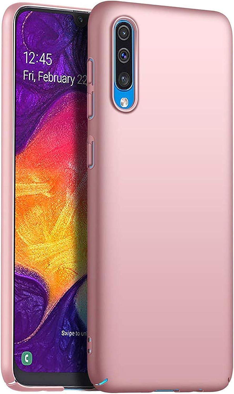 SGKITM Cover Compatible Samsung Galaxy A30s Hard PC Ultra-Sottile Protettiva Custodia Metal Texture Premio Anti-Scratch Antiurto Protezione Bumper Case per Galaxy A30s 2019