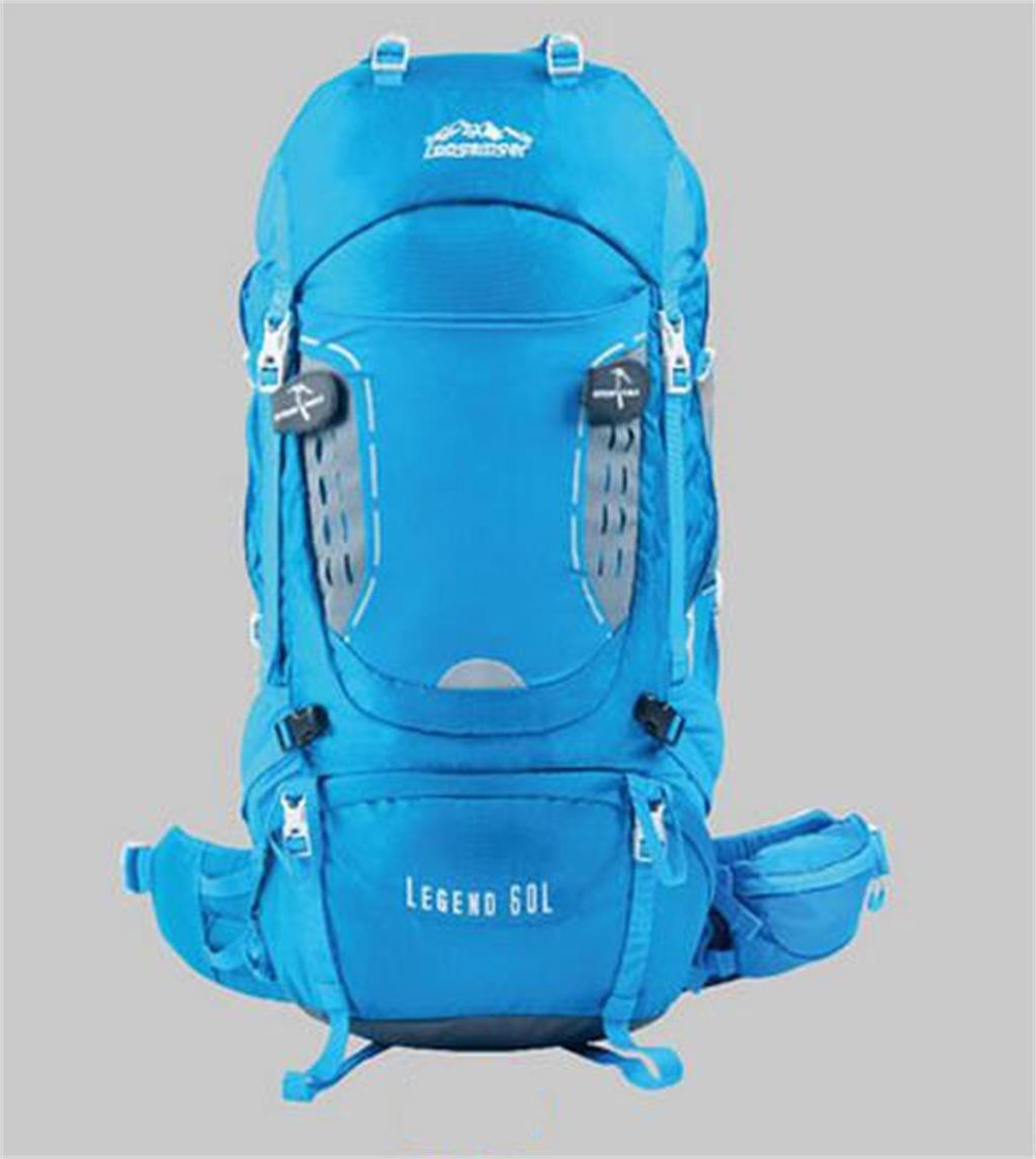 ハイキングバッグ プロのアウトドア登山リュックバッグ大容量旅行バックパックのショルダーバッグの男性と女性 ハイキングバックパック ( 色 : 青 , サイズ さいず : 56-75L ) 56-75L 青 B07BTDL32P