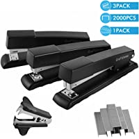 Craftinova Stapler,Office Stapler,20 Sheet Capacity,Includes 2000 Staples & Stapler Remover,3PACK