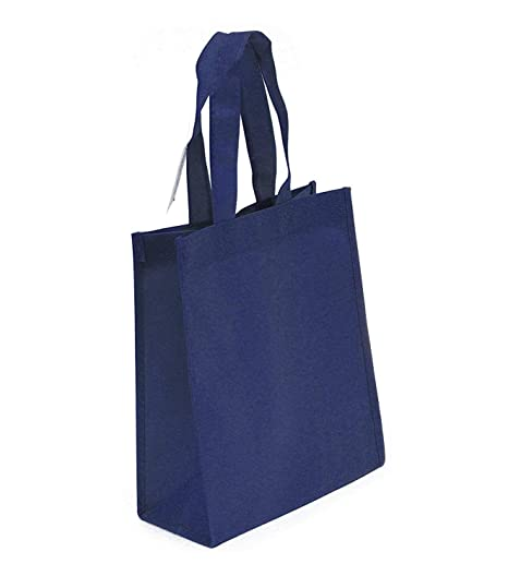 Amazon.com: Bolsas reutilizables de tela no tejida ...