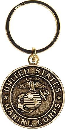 Amazon.com: US Marine Corps Productos Militares Llavero ...