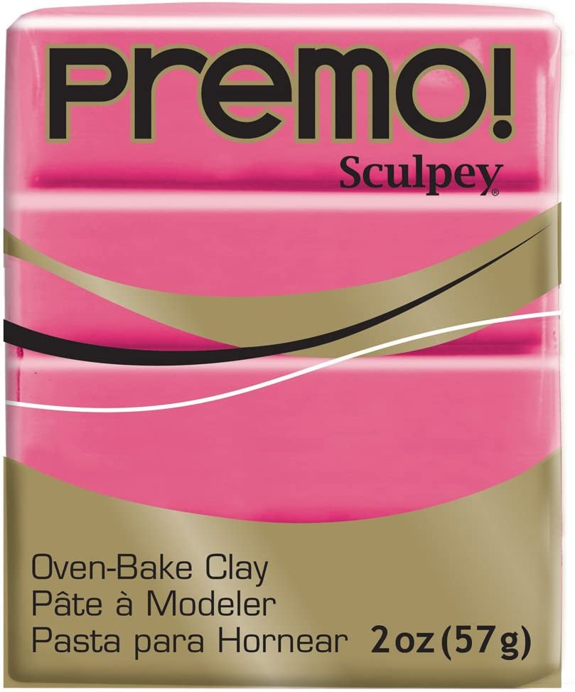 Premo Sculpey Polymer Clay 2 Ounces-Blush
