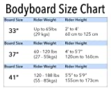 """BPS 37"""" Boogie Board for Unisex with Wrist"""