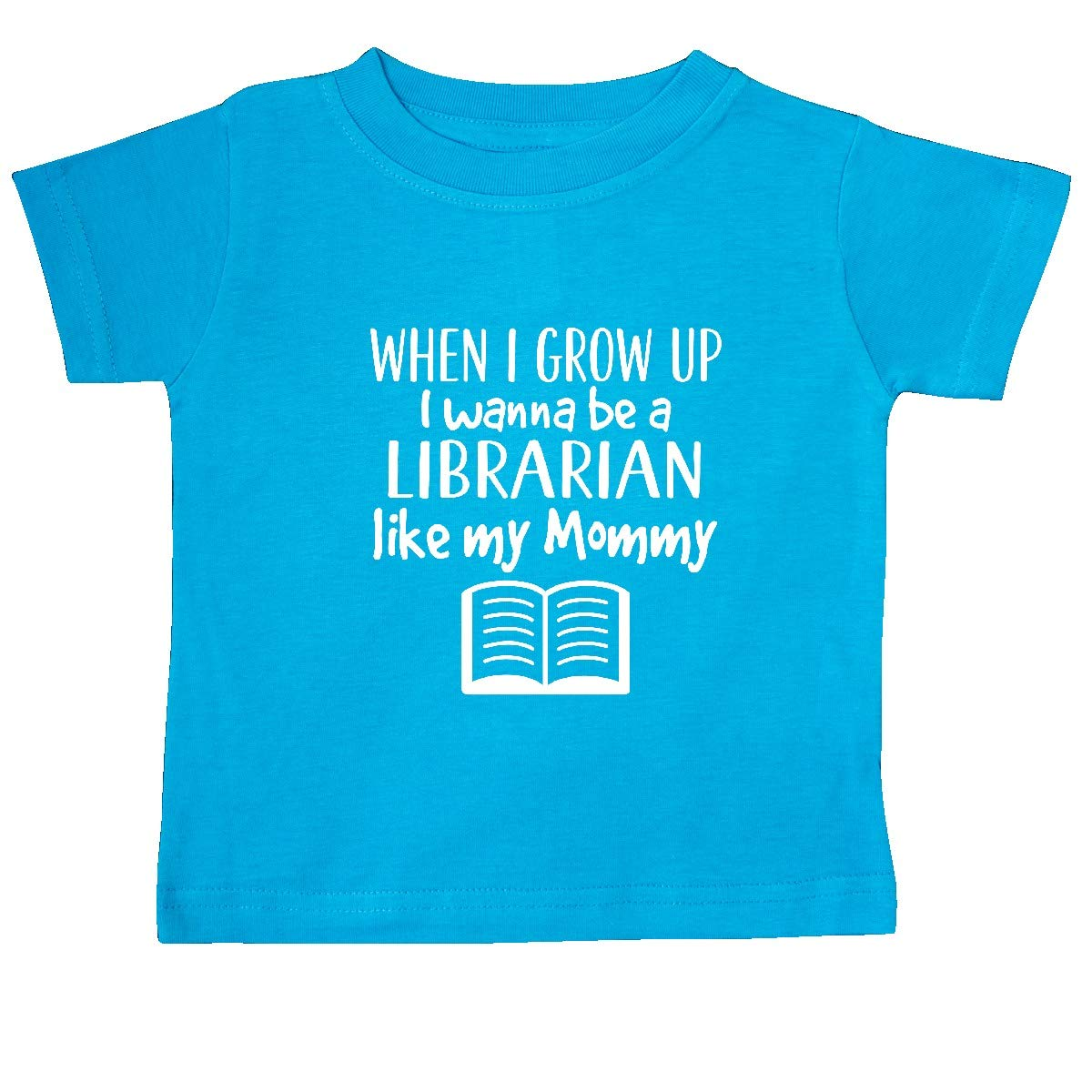inktastic Future Librarian Like Mommy Baby T-Shirt