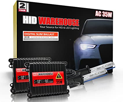 XtremeVision 35W Xenon HID Lights with Premium Slim Ballast 2 Year Warranty 15K Pink H7 15000K