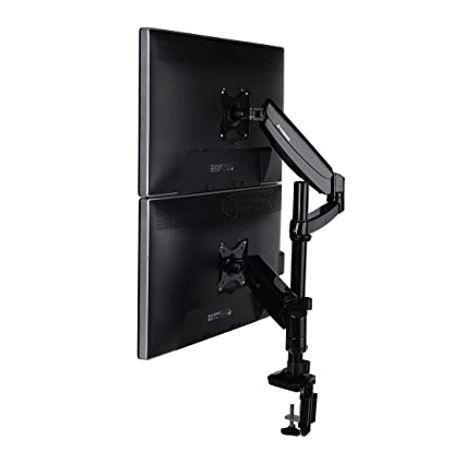 Amazoncom Fleximounts Vertical Dual Monitor Mount Lcd Armfull