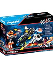 Playmobil 70020 Galaxy Police Bike Playset (40 Pieces)