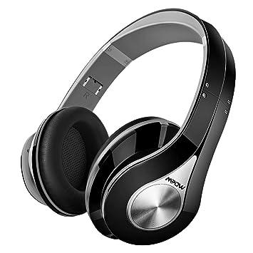 Mpow 059 Auriculares Diadema Bluetooth Inalambricos, Cascos Bluetooth Inalambricos Plegable con Micrófono, 20hrs Reproducción de Música, Hi-Fi Sonido ...