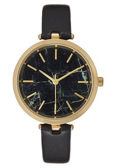 Anna Field Reloj de Mujer Clásico y Elegante - negro, Diámetro Aprox. 3.3 cm