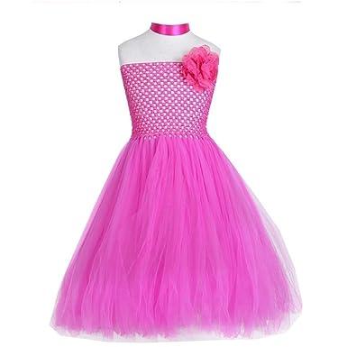 c66fe09ecd7fb3 Robe Tulle Fille - Robe Princesse Tulle Fille pour Une fête ou ...