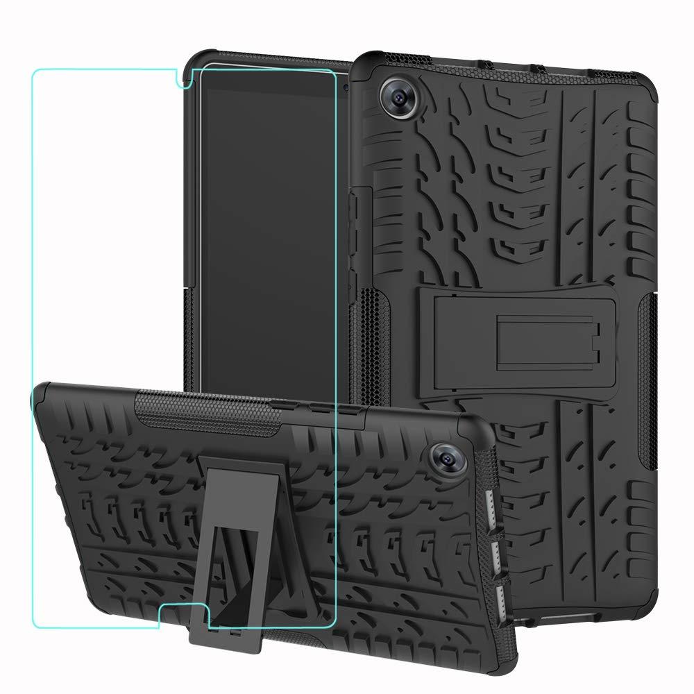 【予約中!】 AMASELL-A 高耐久 Huawei MediaPad M5 10.8インチ AMASELL-A タブレットケース 高耐久 ハイブリッド ブラック 頑丈 二層 耐衝撃保護ケース キックスタンド&強化ガラス スクリーンプロテクター Huawei MediaPad M5 10.8インチ用 ブラック ブラック B07L937XCL, ウエノムラ:1da3d103 --- a0267596.xsph.ru