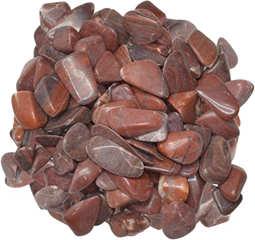 and Energy Crystal Healing Reiki Bulk Natural Polished Gemstone Supplies for Wicca Hypnotic Gems Materials: 1 lb Nephrite Jade Tumbled Stones AA Grade from Brazil