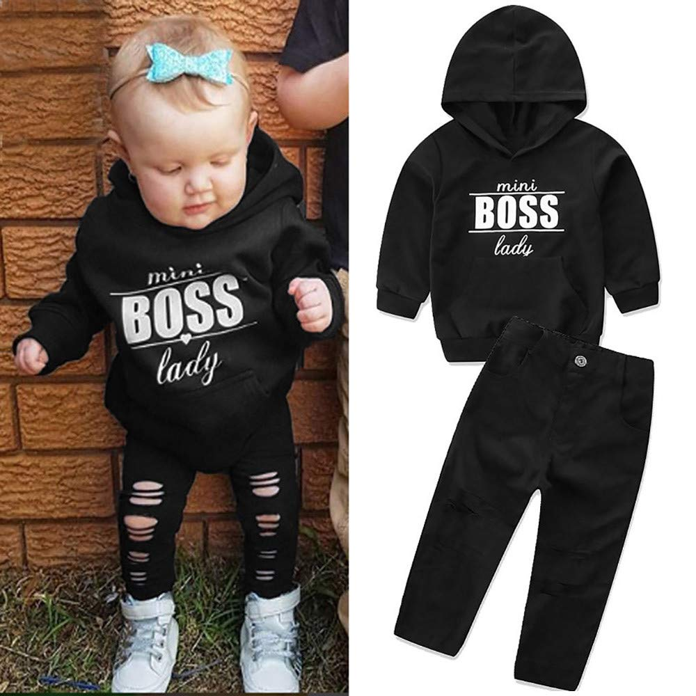 Baby Clothes Hoodies Tops MITIY Hooded Sweatshirts Infant Letter Blouse Toddler Baby Boys Girls