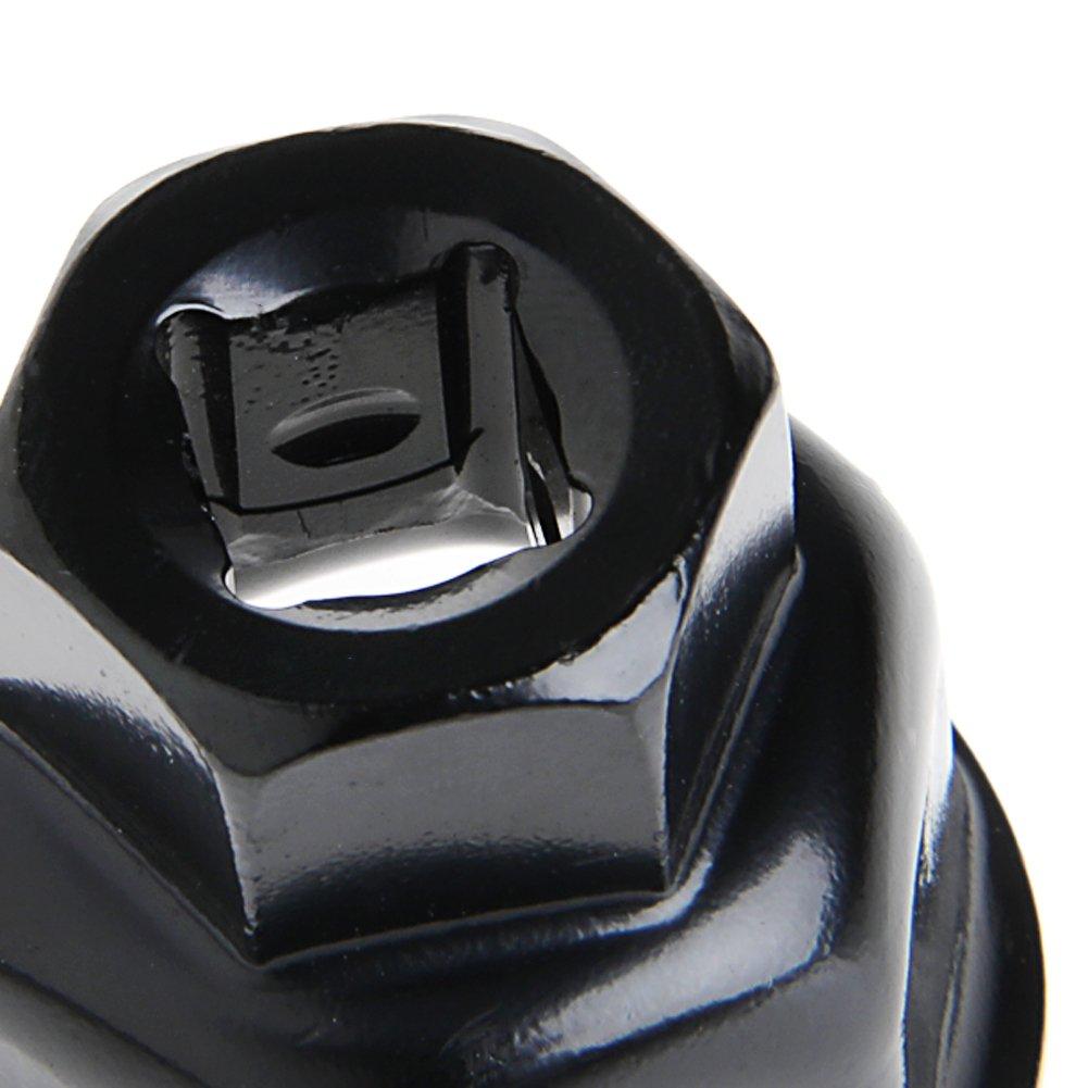 36 mm Chiave a Bussola per Filtro dell/'Olio per Auto TShopm per BMW X5 Audi A6L A8L