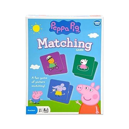 Wonder Forge Peppa Pig Matching Game Pink
