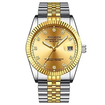Smartwatches,Tuhao Gold Paaruhr Wasserdichte Golduhr Mode Uhr