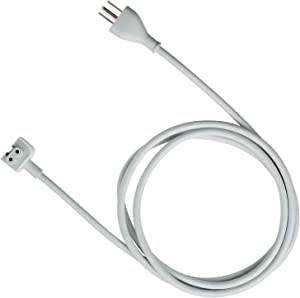 tesha MacBook Pro Charger Extension 45W, 60W, 65W and 85W Power Adapter Extension Cord For Apple MacBook/Pro/Air US 3 Prong-6feet/1Pack