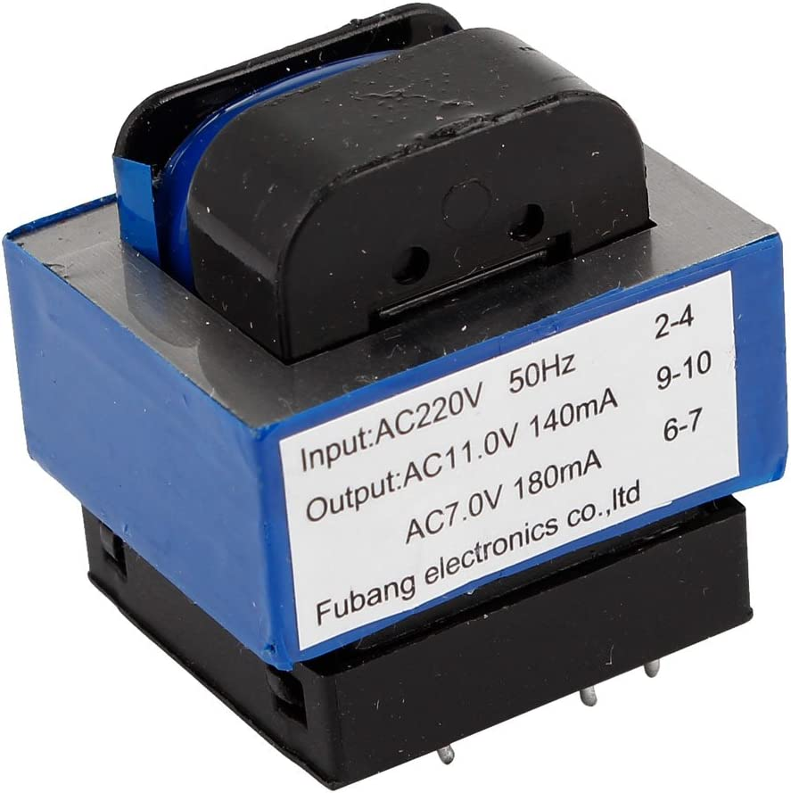 AC 220V a 314/7V 140mA/180mA 7-pin Horno De Microondas Transformador De Potencia