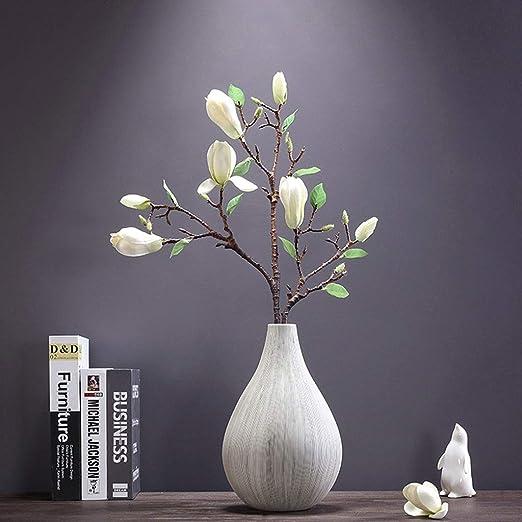 Jixi Disposición Moderna Minimalista jarrón de Flores secas Sala ...