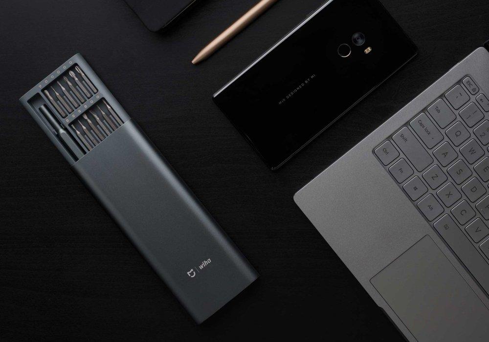 Mijia Wiha Screwdriver Set 24 Precision Magnetic Heads Free Storage Box Repair Tools Kits