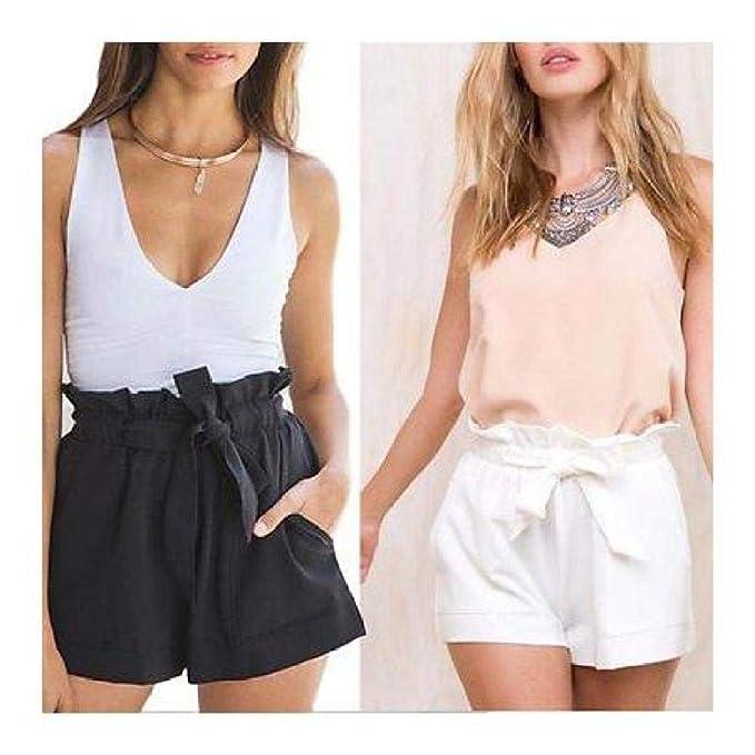 4b1bbdcdce Amazon.com: FidgetGear Women Hot Pants Summer Casual Loose Shorts ...