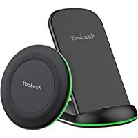 yootech Cargador Rápido Inalámbrico,2 Pack Compatible con iPhone 13/13Pro/12/12Pro/SE 2020/11/11Pro/11Pro MAX/XS MAX/XR…
