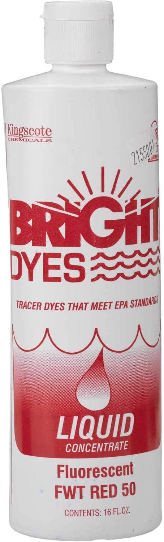 BRIGHT DYES Tinte Fluorescente Rojo FWT, 1 Pinta, líquido ...