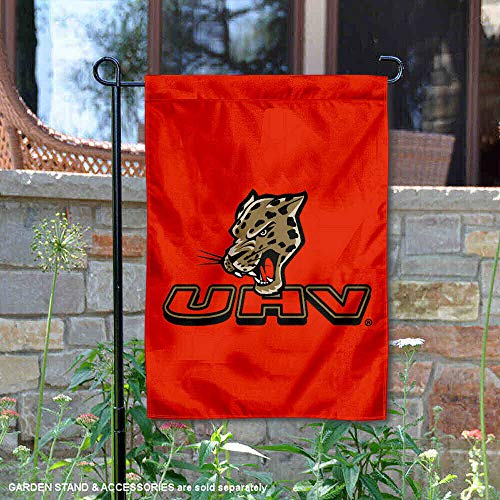 (College Flags and Banners Co. Houston Victoria Jaguars Garden Flag)
