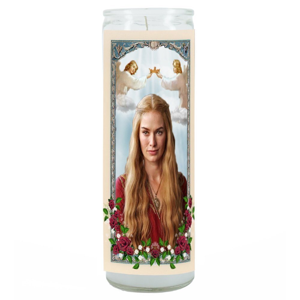 Cersei Lannister Game of Thrones Prayer Candle