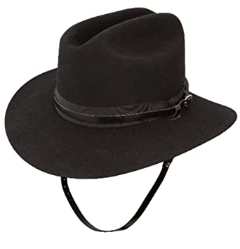 Cattleman Creased Cavalry Hat By Stetson 718 At Amazon Mens