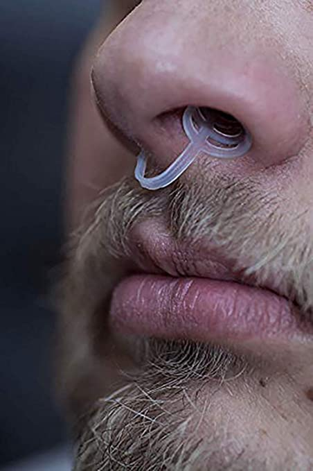 BetterAngel Ferula Antironquidos Mejorar RespiracióN Nasal Dormir Silicona, Dilatador Clip Nasal Antironquidos Y Apnea Correa Solutions, ...