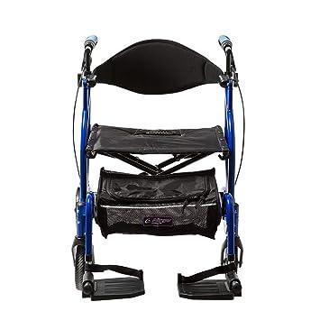 Careline T-310 Opti Rolly - Andador y silla de transporte ...