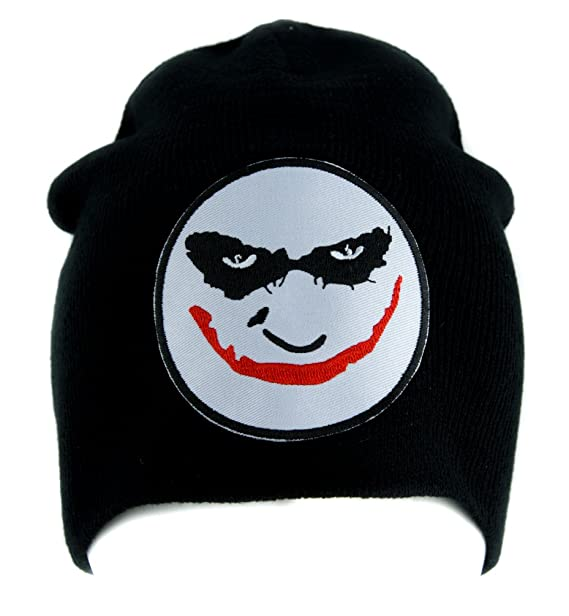 7c29ee4b17c Image Unavailable. Image not available for. Color  The Joker Heath Ledger  Beanie Alternative Style Clothing Knit Cap Batman Dark Knight