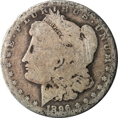 1878 to 1904 90% Silver Morgan Silver Dollar Cull $1 About Good