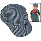 Fun Express Child's Train Conductor Hats (12 Pack), 8-1/2""