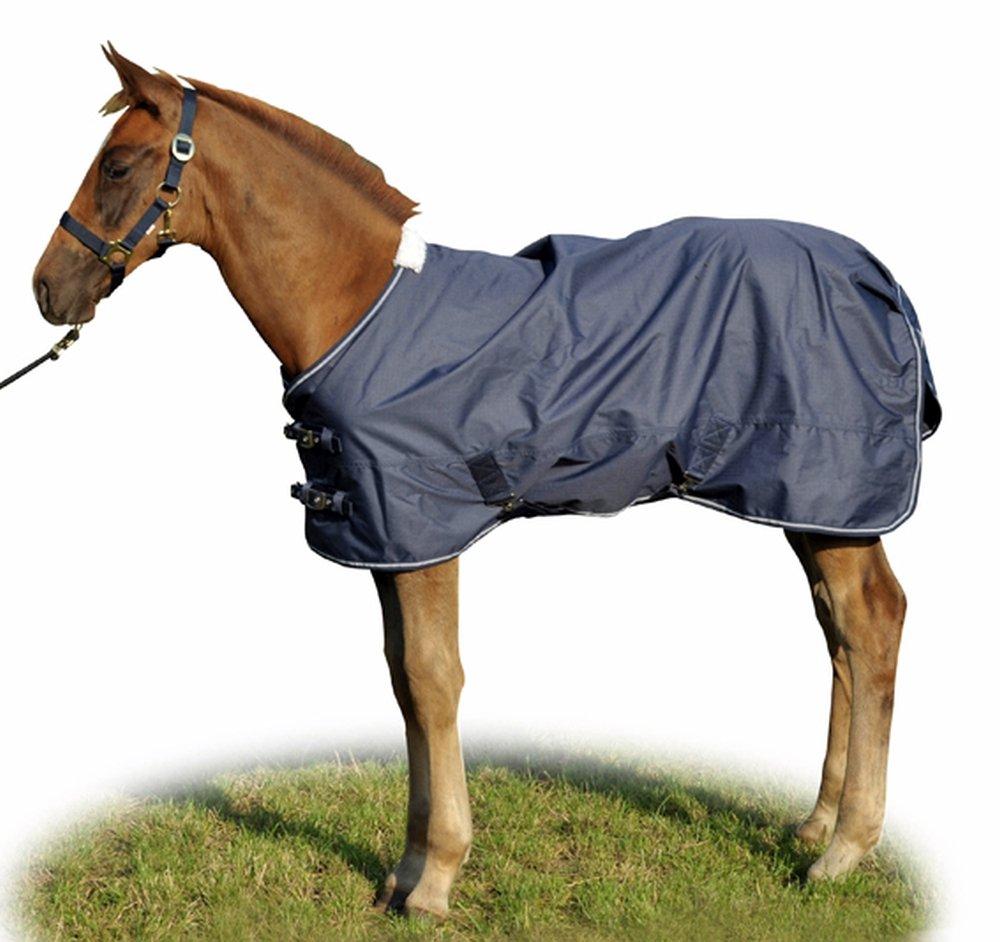 115 Hkm 52666900.0008 Foal Turnout Professional with Polar Fleece Lining Dark bluee
