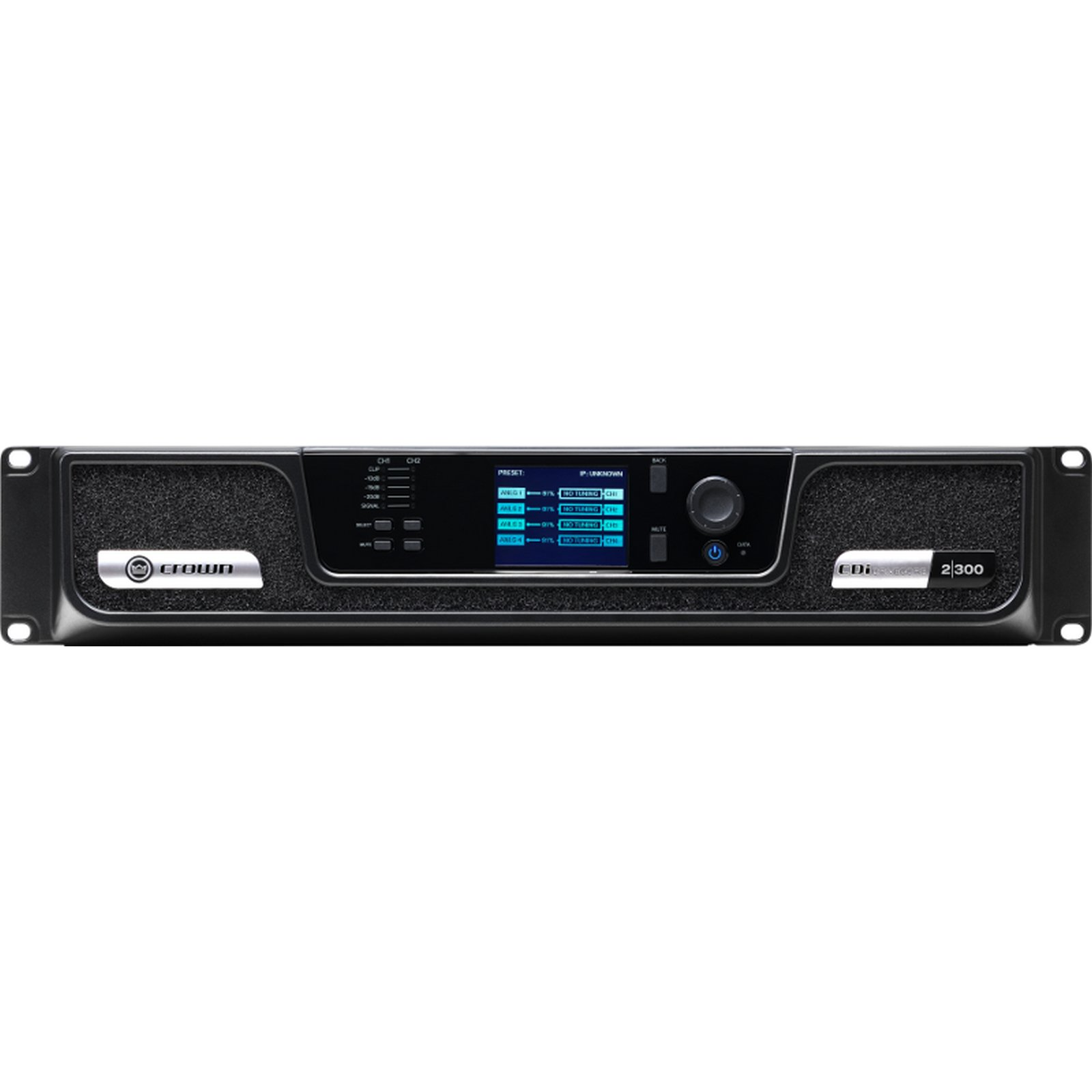 Crown CDi DriveCore 2 300BL | 2 Channel 300 Watt 4 Ohm Power Amplifier